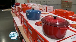 Ms Cheap Shops The LeCreuset Cookware Factory To Table Sale