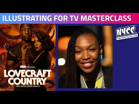 Lovecraft Country | Illustrating for TV Masterclass with Afua Richardson