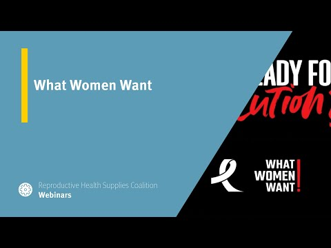 What Women Want Campaign