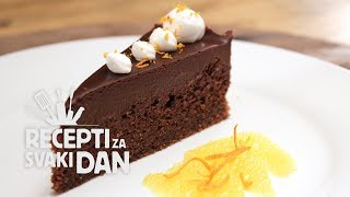 Čokoladna torta - video recept