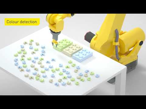 Intelligent robot accessories from FANUC - Integrated vision
