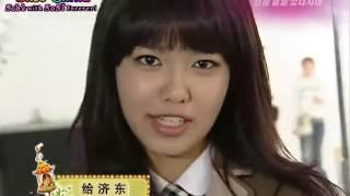 081108 SNSD @ KBS演藝家中介 校服廣告