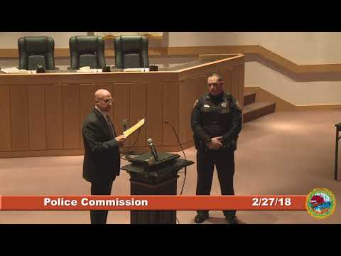 Police Commission 2.27.2018