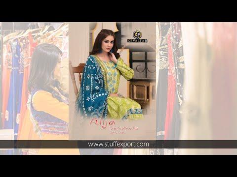 Keval Fab Alija Bandhani Special Cotton Digital Printed Suits Catalog