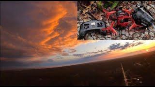 Beautiful Sunset FPV Drone