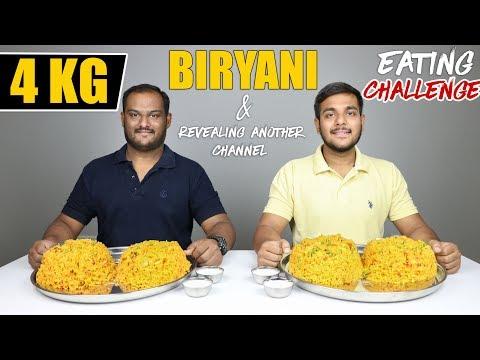 4 KG BIRYANI EATING CHALLENGE   Biryani Eating Competition   Food Challenge