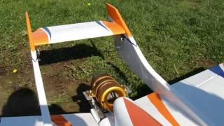 """""""Remaiden"""" Falcon with King Tech K-80f Turbine RC jet"""
