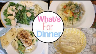 Week of Dinner Inspiration!  Dinner Meals & Recipes! What's for Dinner