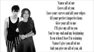'All Of Me' - John Legend (Max & Zendaya) lyrics