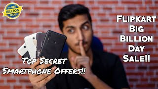 Top & Best Smartphone Offers & Discounts on Flipkart Big Billion Day Sale!!