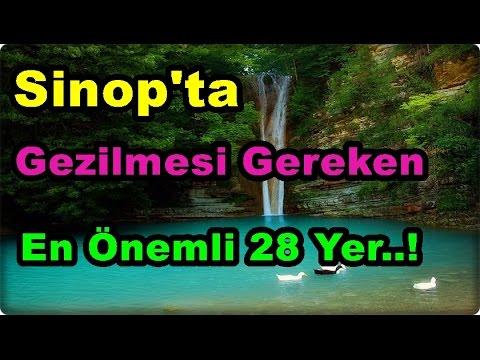 Sinop'ta Gezilmesi Gereken En Önemli Yerler..!