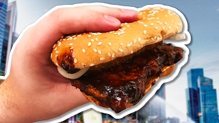 Дичайший Бургер!!! Что едят в Сингапуре?
