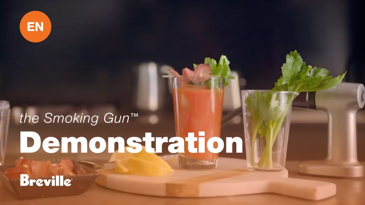 Breville - the Smoking Gun - The Smoky Bloody Mary Cocktail