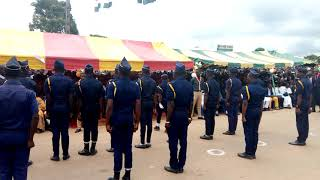 preview picture of video 'Parade Royal ambassadors Indépendance Day in Ivory coast'