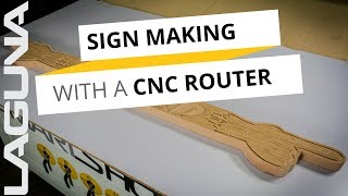 Sign Making with A CNC and Wire Brush Machine