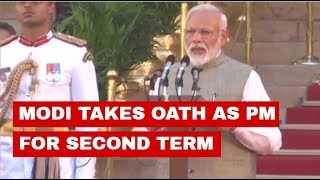 Prime Minister Narendra Modi is set to take oath of office for the second time in a row swearing-in ceremony will take place at Rashtrapati Bhavan and it will be attended by nearly 8,000 guests, including foreign dignitaries and chief ministers and governors.