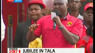 Jubilee campaigns in Tala ahead of 2017 polls