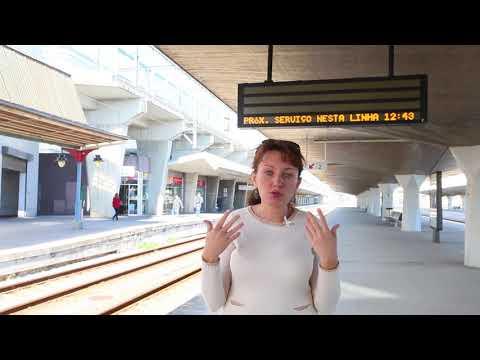 Как добраться из Лиссабона до Порту на поезде?