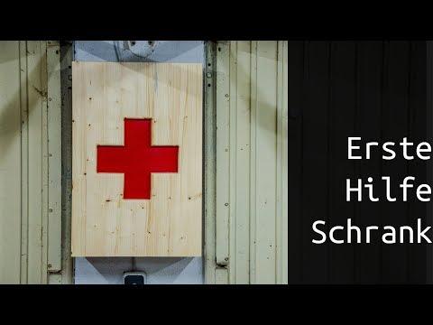 Erste Hilfe Schrank