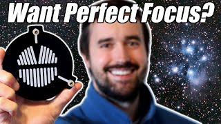 How to get Perfect Focus with a Bahtinov Mask for Astrophotography