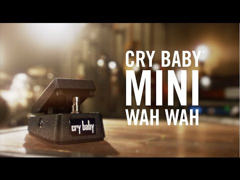 Dunlop Manufacturing Electronics Cry Baby 174 Mini Wah