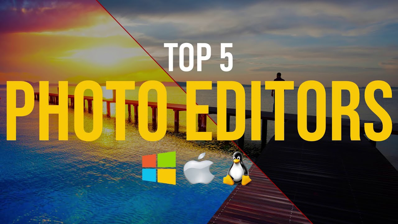 top 5 most popular free photo editing softwares by techgumbo