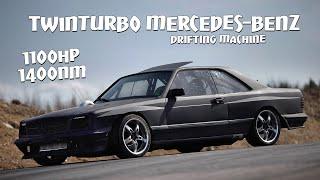 Monster Mercedes ultimate drift machine 1100hp / 1400nm.