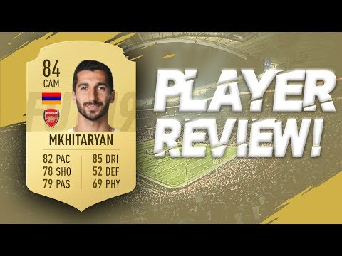 FIFA 19 - 84 RATED HENRIKH MKHITARYAN PLAYER REVIEW | FIFA 19 ULTIMATE TEAM PLAYER REVIEW