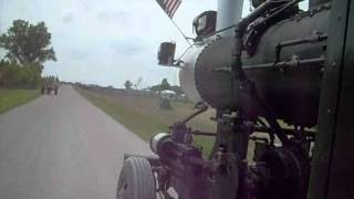 preview picture of video 'Kramer's Steam Road Locomotive @ Wauseon Ohio .wmv'