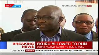 Ekuru: We want to confirm to Kenyans that we shall be in the ballot as ordered by the high court