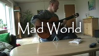 Mad World | fingerstyle guitar (with tabs)