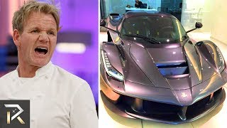 10 Ridiculously Expensive Things Gordon Ramsay Owns
