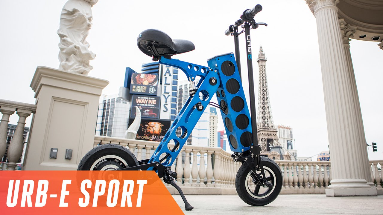 URB-E Sport is a cheaper, lighter electric vehicle thumbnail