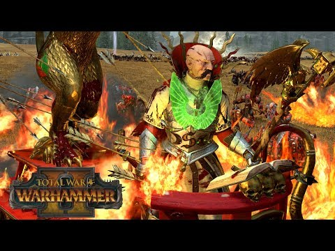 AVENGE THE FALLEN - Empire vs Greenskins // Total War: Warhammer II Online Battle