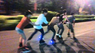 preview picture of video 'inline skate ninh binh'