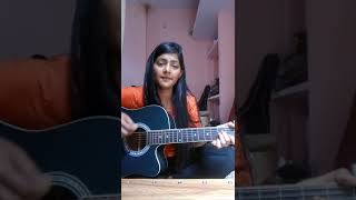 Sapna - Arijit singh | parmanu | female cover | guitar chords