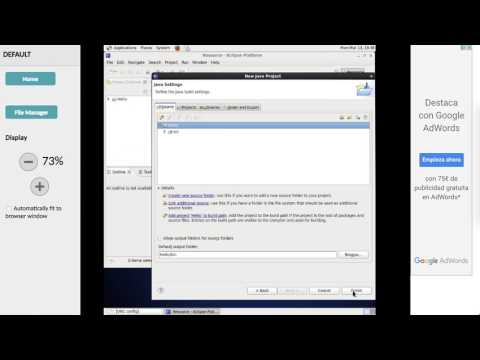Eclipse online IDE for Java, C, PHP and Ruby