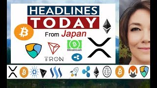 TRX Tron up Big Time! Ripple XRP doing it right! LTC BAKKT NEM BTC BCH & More