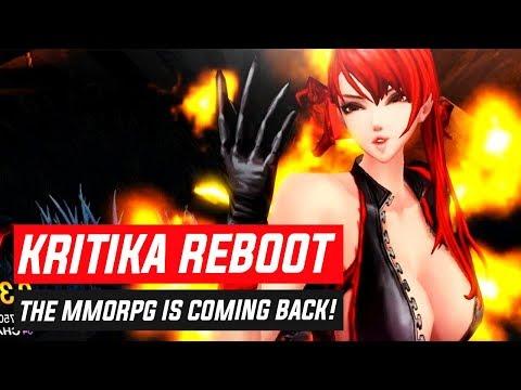 IT'S BACK! Kritika Online is Relaunching as KRITIKA: REBOOT