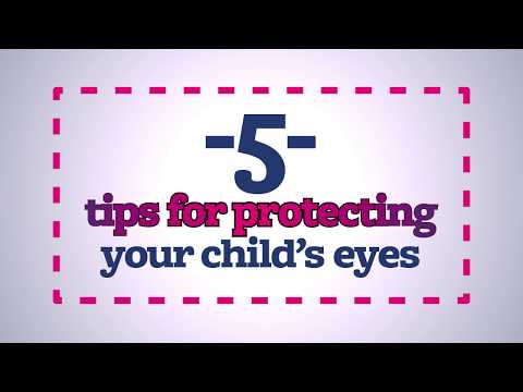 5 tips for protecting your children's eyes