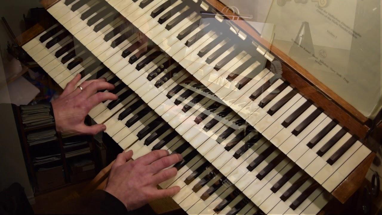 Handel Organ Concerto Opus 4/5 Presto