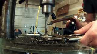 How To Drill A Hardened Stainless Steel Ball Bearing