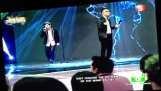 JB and Danile on Kanta Pilipinas