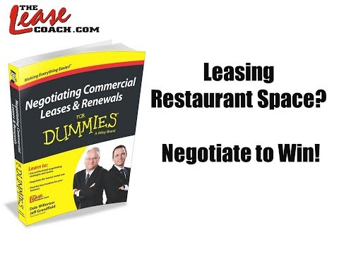 7 Leasing Tips Every Restaurant Tenant Should Know