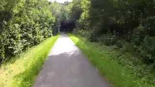 preview picture of video 'A vélo à Wiltz (Lux).'