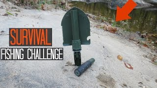 Survival Fishing Challenge Multi Tool Only No Rod Lures