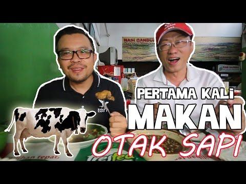 Video Pertama Kali Makan Otak Sapi di Nasi Gandul Khas Pati Ibu Endang   Kuliner Jakarta