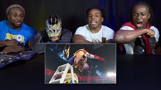 The New Day and Kalisto rewatch their insane Ladder Match from WWE TLC 2015: WWE Playback