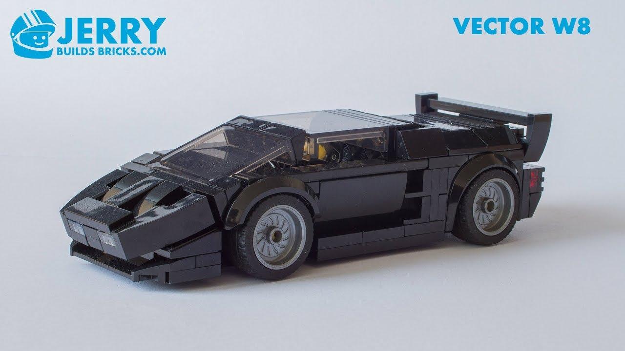 LEGO Vector W8 instructions (MOC #92)