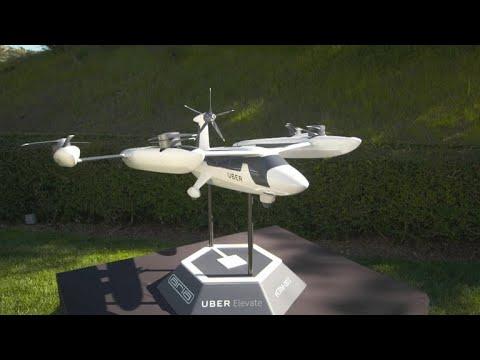 Uber впервые показала прототип своего летающего такси